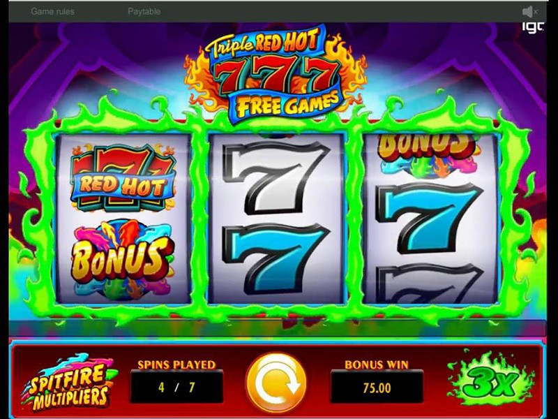 Video Slots Free Online Bonus Round